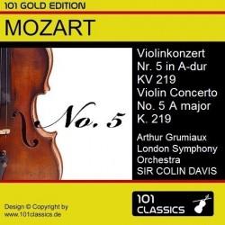 MOZART Violinkonzert Nr. 5...