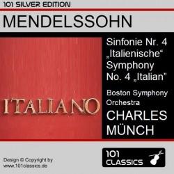 MENDELSSOHN Sinfonie Nr. 4...