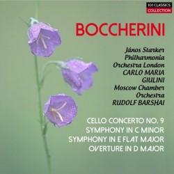 BOCCHERINI Sinfonien G. 510...