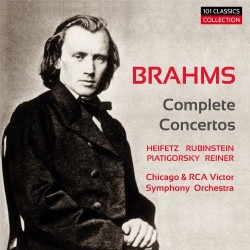 BRAHMS Complete Concertos...