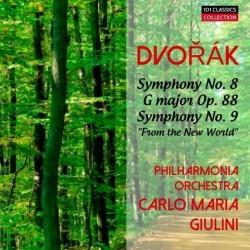 DVORAK Sinfonie Nr. 8 & 9...