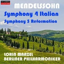 MENDELSSOHN Sinfonien Nr. 4...