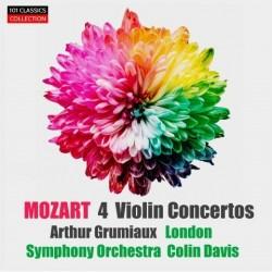 MOZART Vier Violinkonzerte...