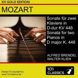 MOZART Sonate für zwei...