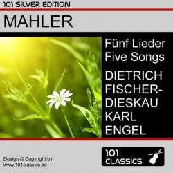 MAHLER Fünf Lieder:...