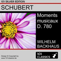 SCHUBERT Moments musicaux D...