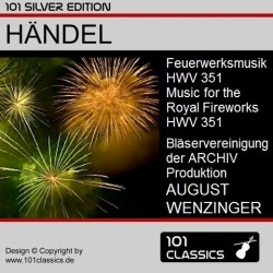 HÄNDEL Feuerwerksmusik HWV...