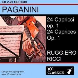 PAGANINI 24 Capricci op. 1...